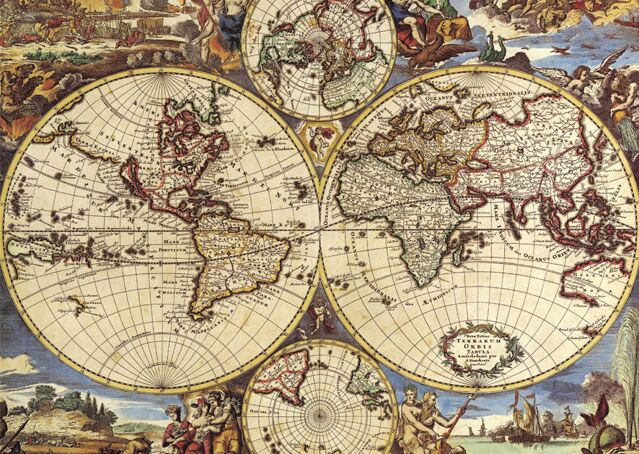 Ancient world map wooden jigsaw puzzle 1000 pieces puzzle mind fitness gumiabroncs Gallery
